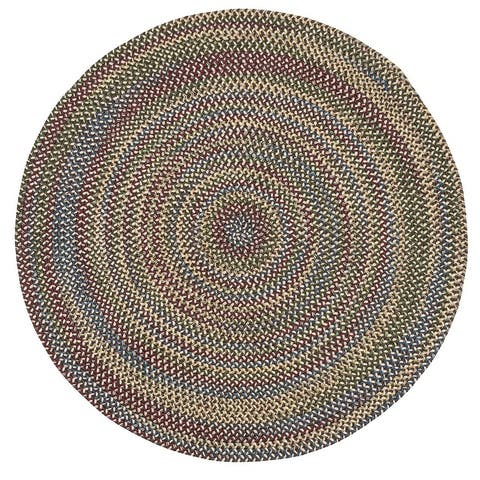 Colonial Mills Worley Rustic Braided Round Rug