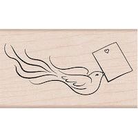 "Hero Arts Mounted Rubber Stamp 3.75""X1.375""-Love Note Bird"