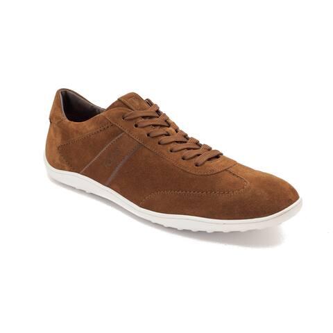 Tod's Men's Suede Low Top Sneaker Shoes Brown