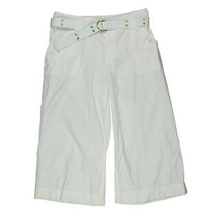 Lauren Ralph Lauren Womens Cotton Casual Capri Pants - 10