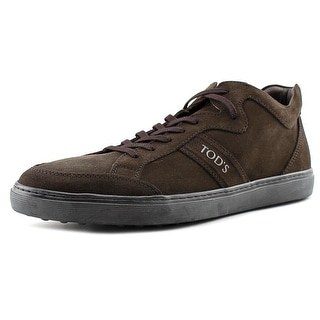 Tod's Polacco Sport Cassetta Men Suede Brown Fashion Sneakers