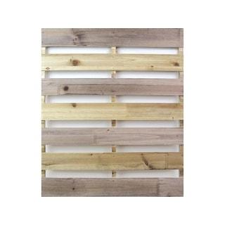Pac11 spc wood pallet mini brown 19 75x23 6x1