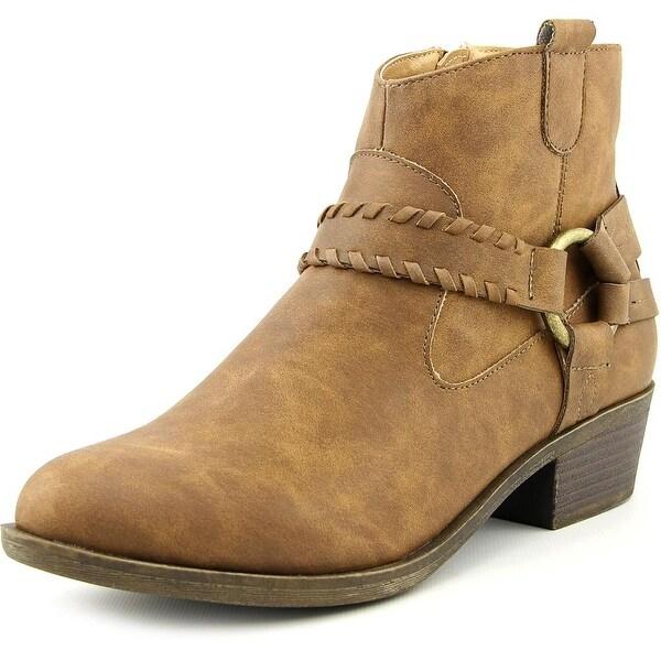 XOXO Gillian Women Round Toe Synthetic Ankle Boot