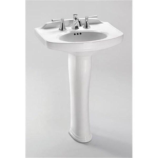 wonderful Toto Sinks Pedestal Part - 16: Toto PT642-01 Dartmouth Sink Pedestal, Cotton White
