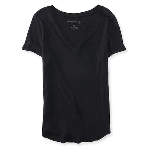 Aeropostale Womens Perfect Tee Basic T-Shirt
