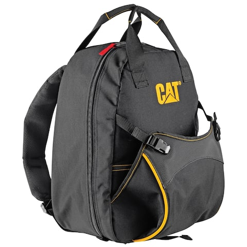 Cat 17 inch Tool Backpack with 18 Pockets Heavy Duty 1200D Polyester - 240048