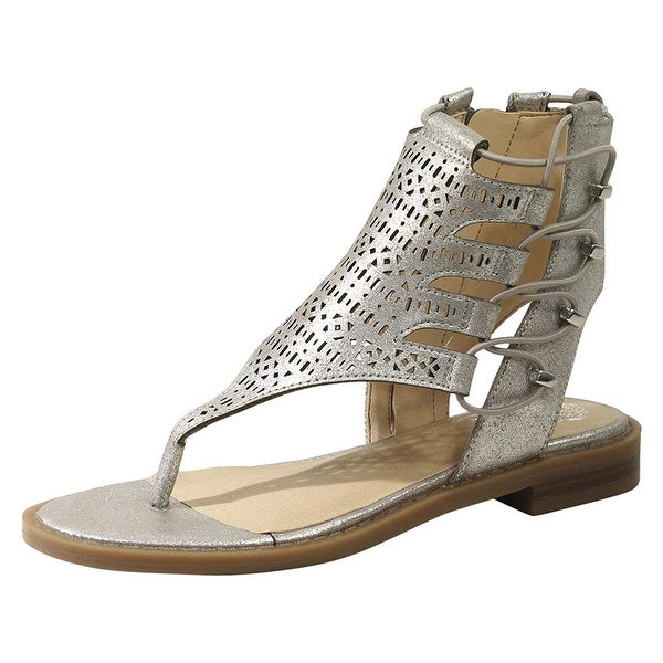 f5f464241 Shop Vince Camuto Kids' Juli Flat Sandal - Free Shipping On Orders Over $45  - Overstock - 26271304