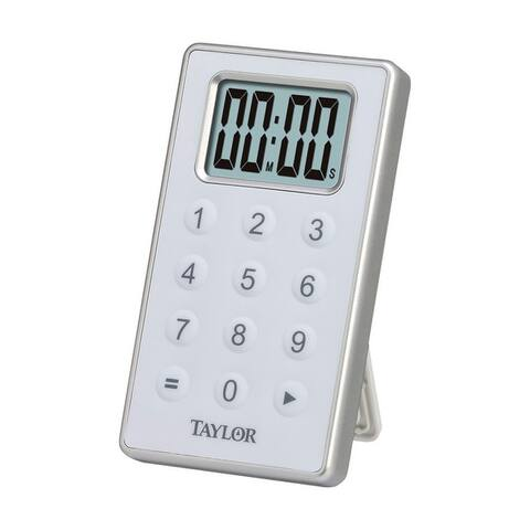 Taylor 5850 Digital Timer, White