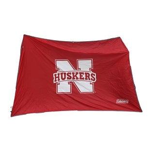 NCAA Nebraska Cornhuskers 10x10 Slant Leg Canopy Shelter Wall