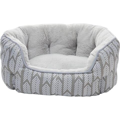 "Mina Victory Arrowtails Pet Bed, (22"" x 16"" x 9"")"