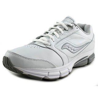Saucony Progrid Echelon LE 2 Men W Round Toe Synthetic White Walking Shoe