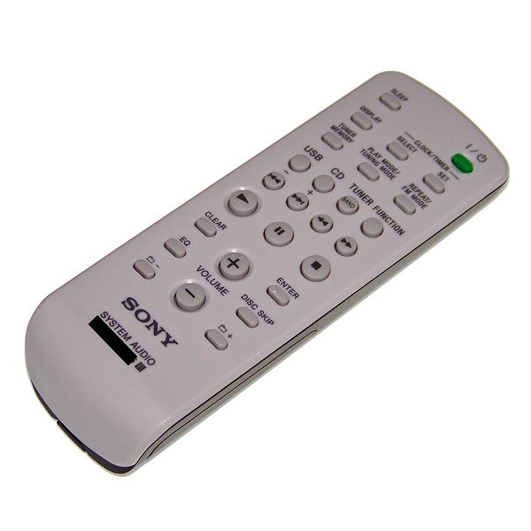 OEM NEW Sony Remote Control Originally Shipped With MHCGTX88, MHC-GTX88