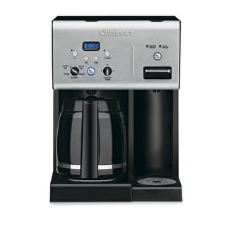 Cuisinart CHW-12 Programmable Coffeemaker With Hot Water System, 12 Cup