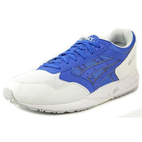 Asics Gel Saga Men Round Toe Synthetic Blue Sneakers