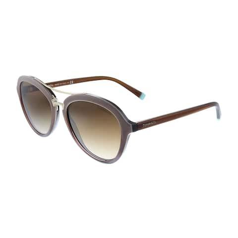 Tiffany & Co. TF 4157 82773B 55mm Womens 0 Frame Brown Gradient Lens Sunglasses
