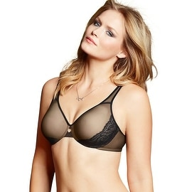 Women's Shimmering Lightweight Sheer Minimizer Bra 456