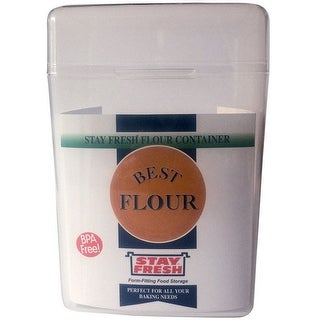 Stay Fresh 7054 Flour Container, 5 Lbs