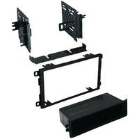 Best Kits Bkgmk421 Gm(R) Universal 1992-2012 With Oversized Radios Double-Din/Single-Iso With Pocket Kit