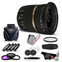 Tamron SP AF 10-24mm f / 3.5-4.5 DI II Lens For Sony International Version (No Warranty) Advanced Kit - black