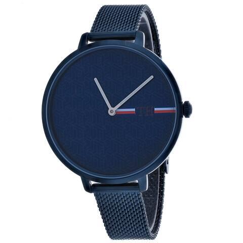 Tommy Hilfiger Men's Alexa Blue Dial Watch - 1782159 - One Size