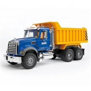 Bruder 02815 Mack Granite Dump Truck Toy, Scale 1:16, For Age 3+