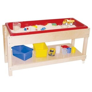 Sand And Water Table With Top Shelf