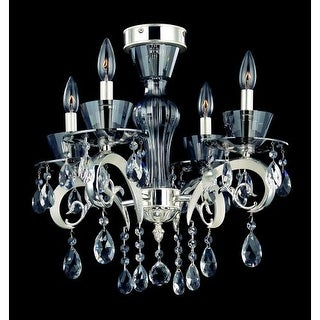 Allegri 10090 Locatelli 4 Light Semi Flush Ceiling Fixture