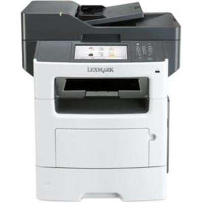Lexmark Mx617de Monochrome All-In One Laser Printer, Scan, Copy, Network Ready, Duplex Printing And Professional Feature