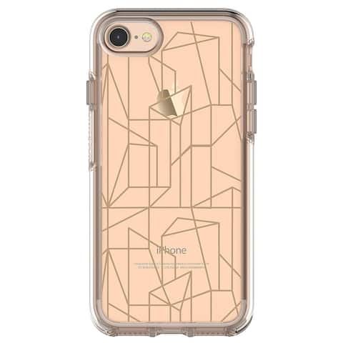 OtterBox SYMMETRY SERIES Case for iPhone 8 & iPhone 7 - Drop Me a Line - Gold