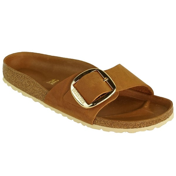 1bdf9cf7f6b Shop Birkenstock Madrid Big Buckle Oiled Leather - On Sale - Free Shipping  Today - Overstock - 24020079