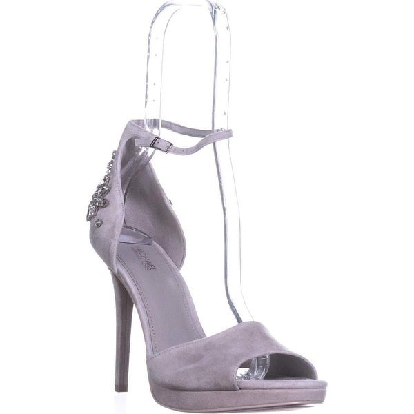 6f2ea3df5150 Shop MICHAEL Michael Kors Women s Patti Jeweled Platform Sandal ...