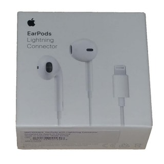 Original Apple EarPods with Lightning Connector for iPhone 5,6,7 iPad Mini, Pro