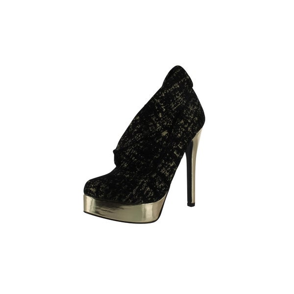 Chinese Laundry Womens Last Night Pumps Shoes - Gold