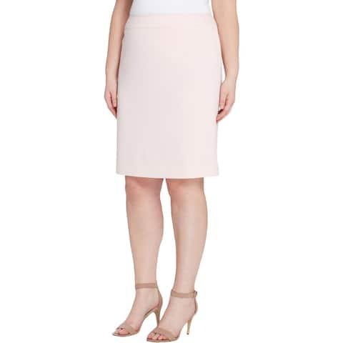 Tahari Womens Pencil Skirt Work Wear Office