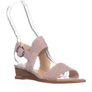 Vince Camuto Raner Braided Wedge Sandals, Tipsy Taupe