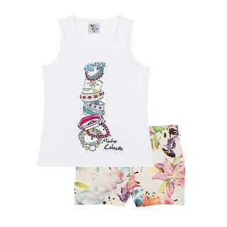 Pulla Bulla Tank Top and Short Set for girls ages 2-10 years