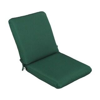 """Casual Cushion Corp 310-1455 High Back Chair Cushion, Forest Green, 44"""""""