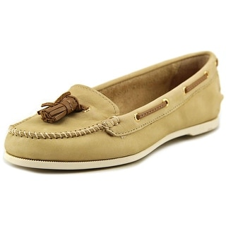 Sperry Top Sider Sabrina Women Moc Toe Leather Boat Shoe
