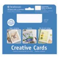 Strathmore  Announcement Cards & Envelopes Flourescent White 10 Piece