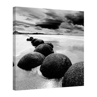 Easy Art Prints PhotoINC Studio's 'Enigmatic Shore' Premium Canvas Art