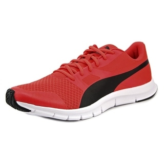 Puma Flexracer Round Toe Synthetic Running Shoe