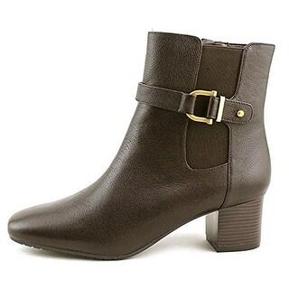 Bandolino Women's Lorillard Square Toe Leather Boot