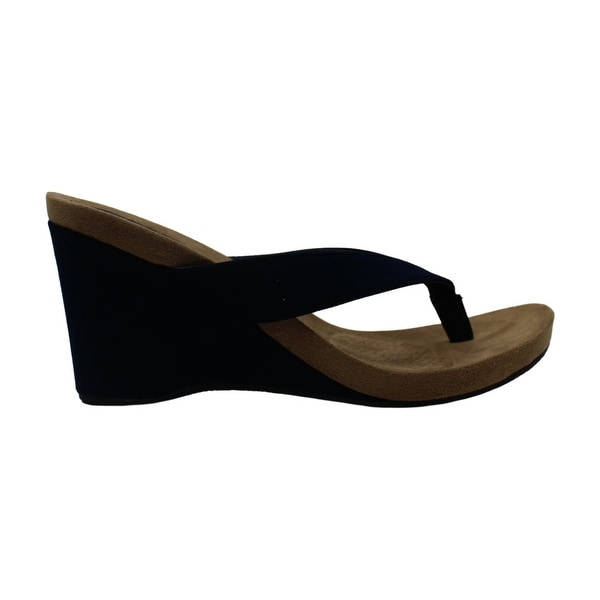 Style & Co. Womens Chicklet Fabric Split Toe Casual Platform Sandals. Opens flyout.