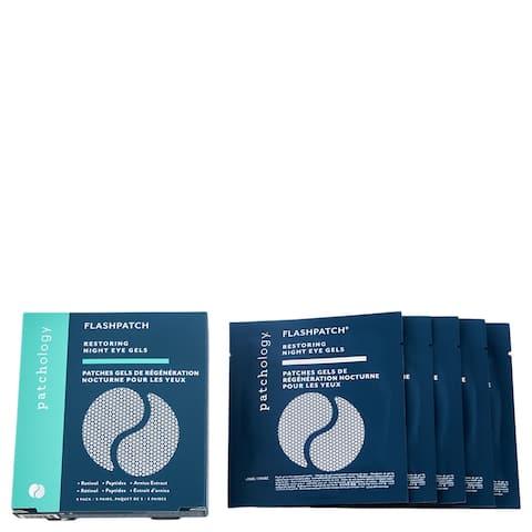 Patchology FlashPatch Restoring Night Eye Gels 5 Pairs - 5 pairs