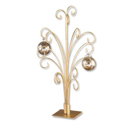 "12 Arm Metal Ornament Tree - 20"""
