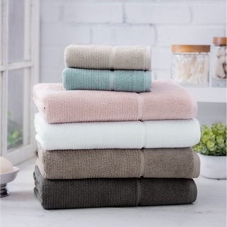 Link to Porch & Den Loney Ultra Plush Turkish Cotton 6-Piece Towel Set Similar Items in Towels
