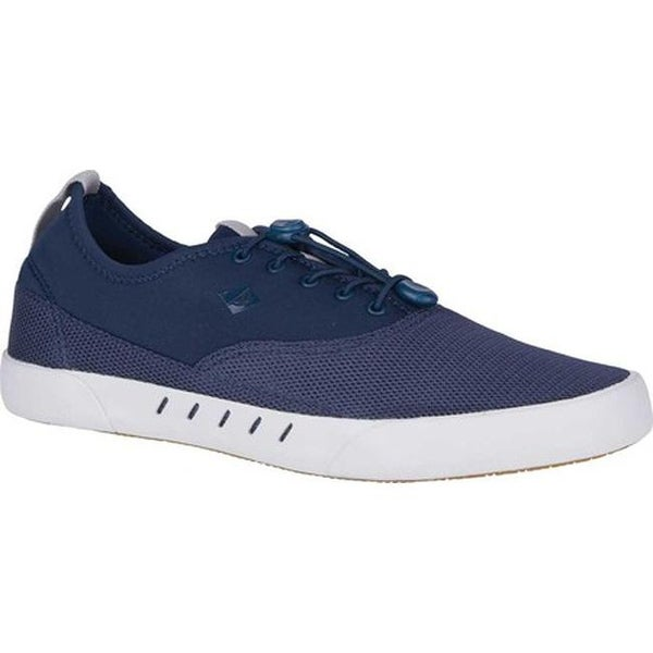 079b56bc9d66 Sperry Top-Sider Men  x27 s Maritime H2O Bungee Lace Sneaker Navy Mesh
