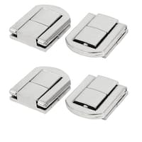 Toolbox Case Alloy Toggle Latches Catch Hasp Locker 25x20x6mm 4pcs