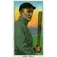 Detroit Tigers - Ty Cobb - Vintage Baseball Photo (Art Print - Multiple Sizes)