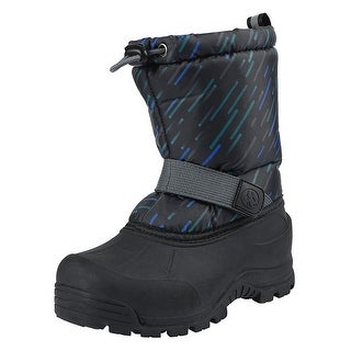 Kids Northside Boys Frosty Knee High Pull On Snow Boots